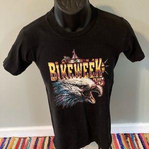 1994 Harley Davidson Bike Week Shirt Daytona Black